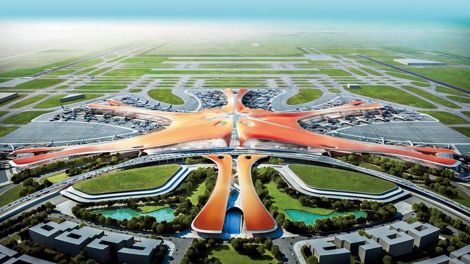 8 pistes, 700.000 m2 : Pékin s'offre un aéroport géant pour les 70 ans du régime chinois.