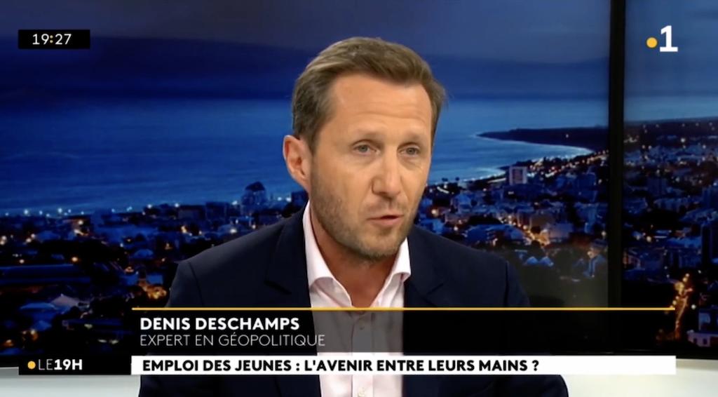Intervention Denis DESCHAMPS Journal télévisé  Réunion 1ère – 24 08 2020