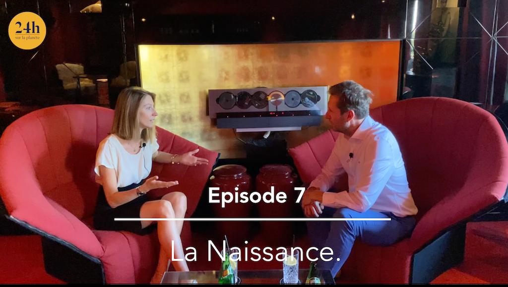 Episode 7 : Laura Lange – La Naissance et la Re-Naissance.