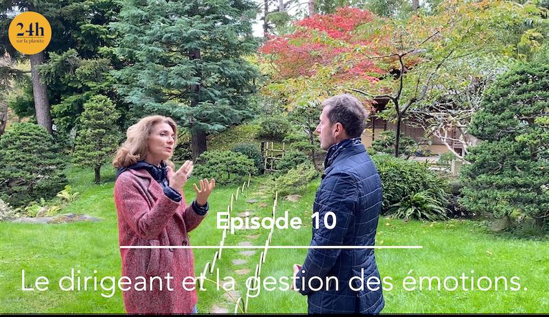 Episode 10 – Mireille Barreau – Le dirigeant et la gestion des émotions