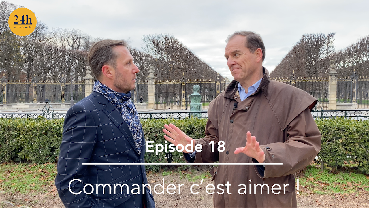 Episode 18 – Loic Finaz – Commander c'est aimer !