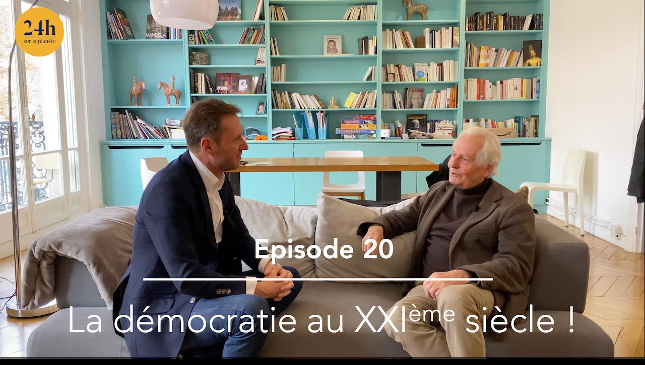 Episode 20 – Heinz Wismann – La démocratie au XXIème siècle.