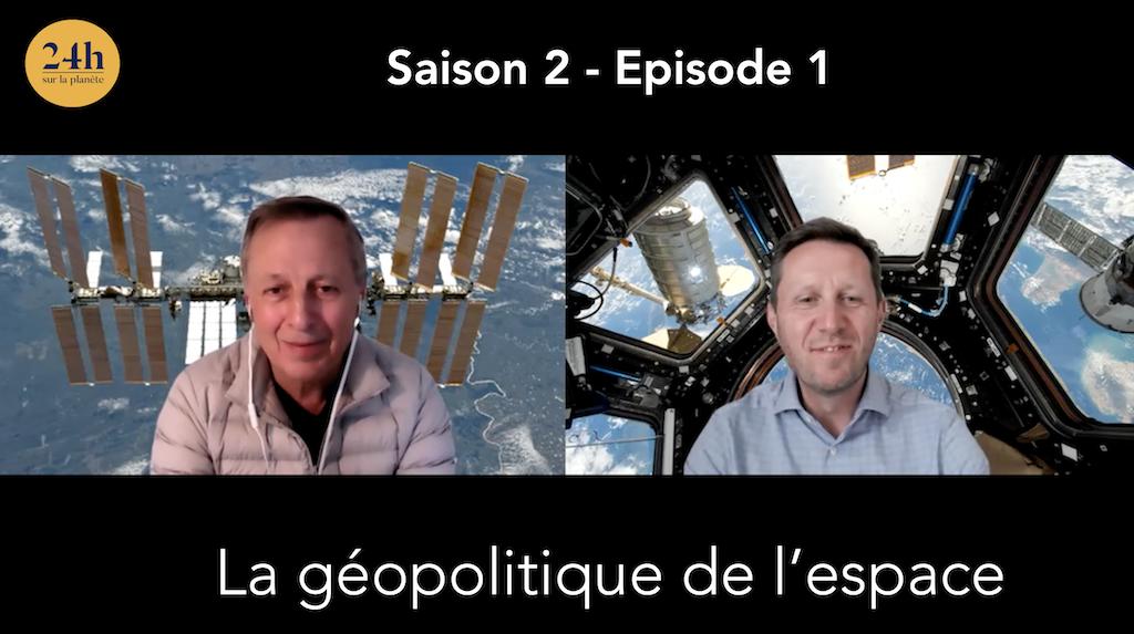 La géopolitique de l'espace avec Michel Tognini